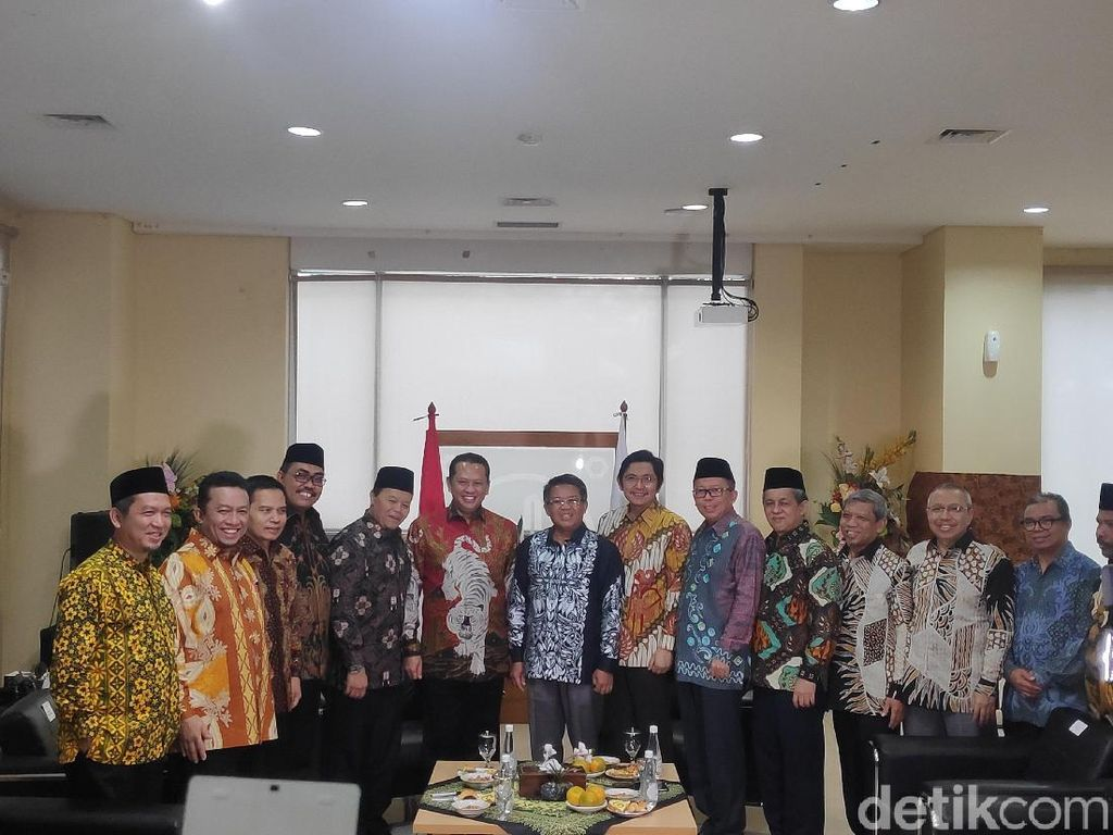 Video Pimpinan MPR Sambangi DPP PKS