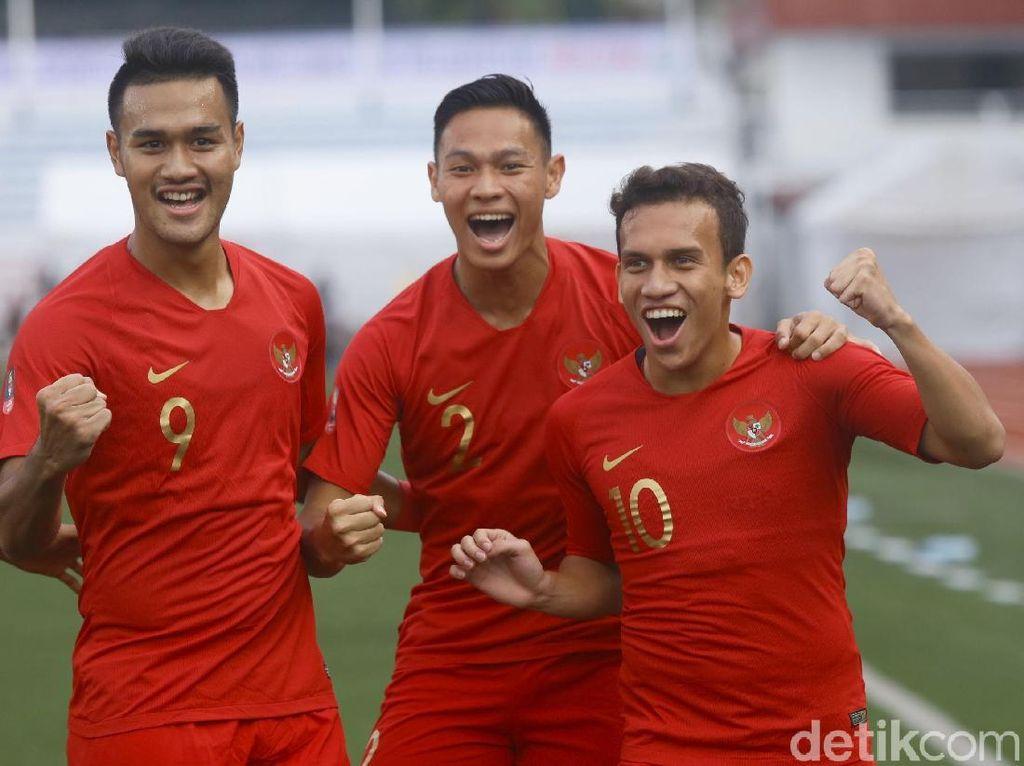 Gol Egy Bawa Indonesia Unggul Atas Thailand di Babak Pertama