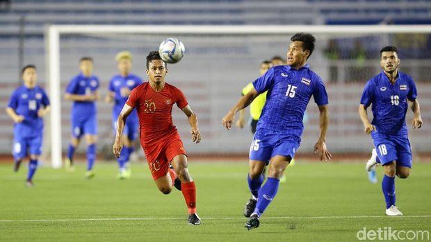 Osvaldo Haay mampu menggandakan keunggulan Indonesia lewat serangan balik cepat