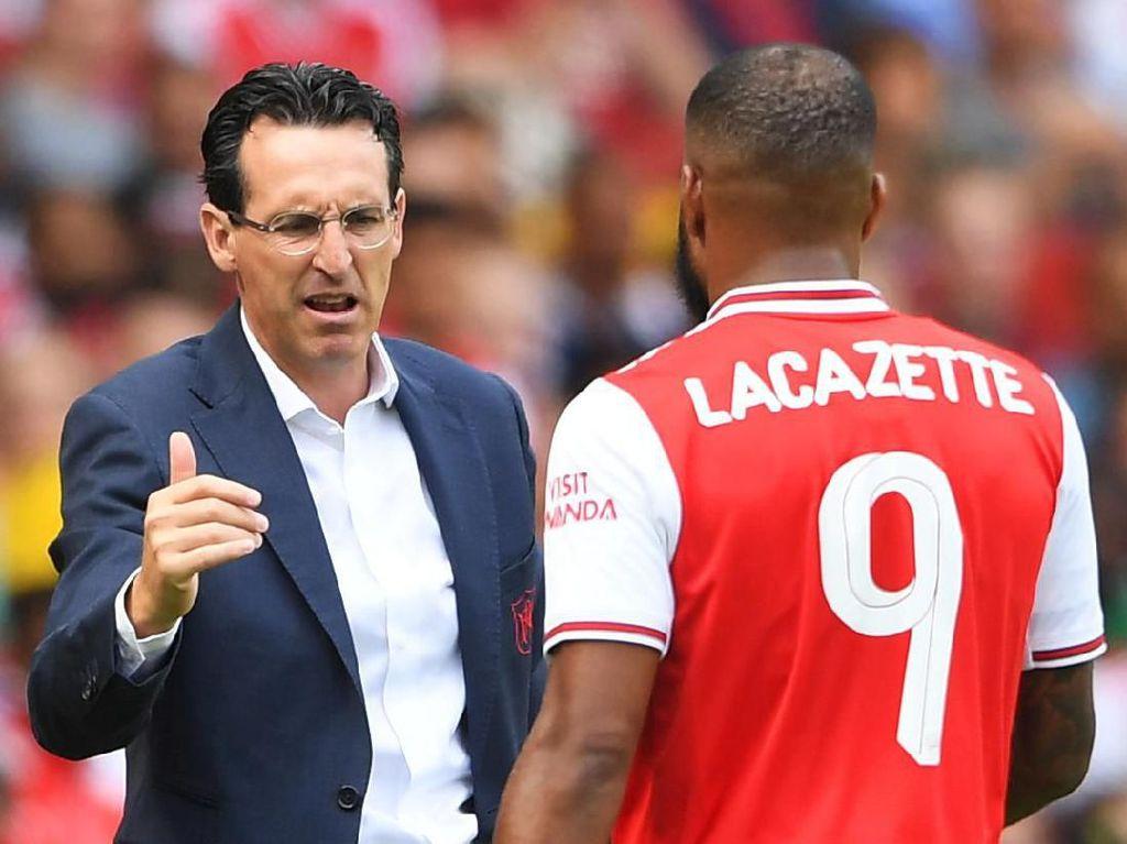 Krisis Arsenal Membesar, Emery Ribut dengan Lacazette