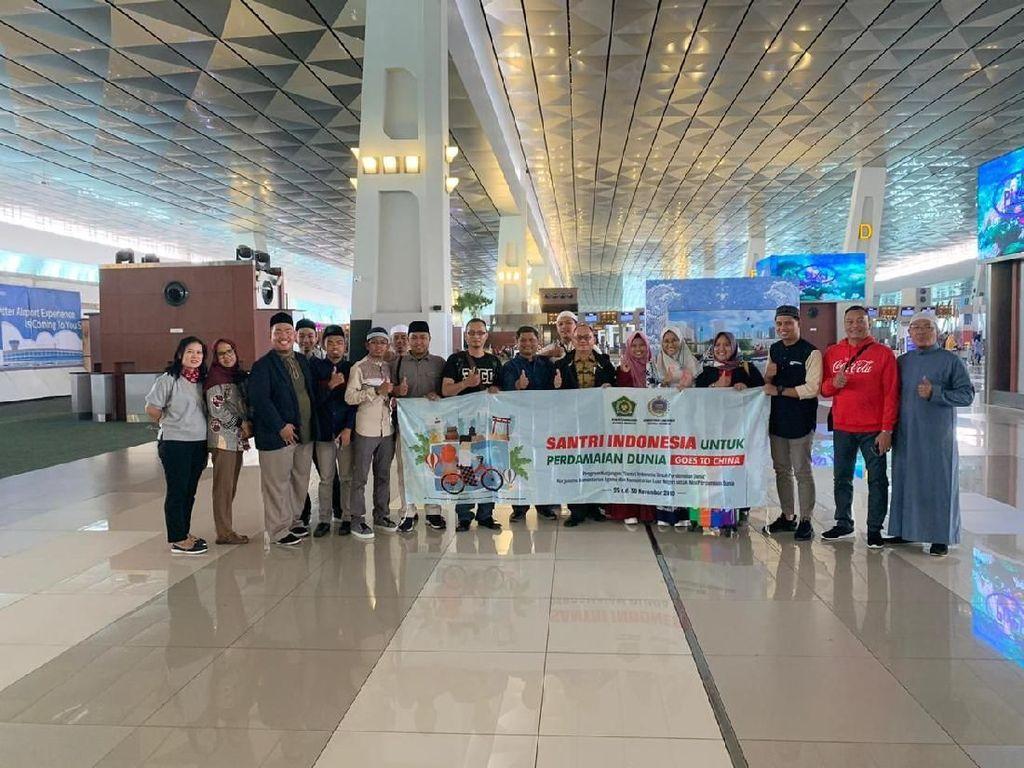 Kenalkan Islam yang Damai dan Toleran, 10 Santri RI Dikirim ke Tiongkok