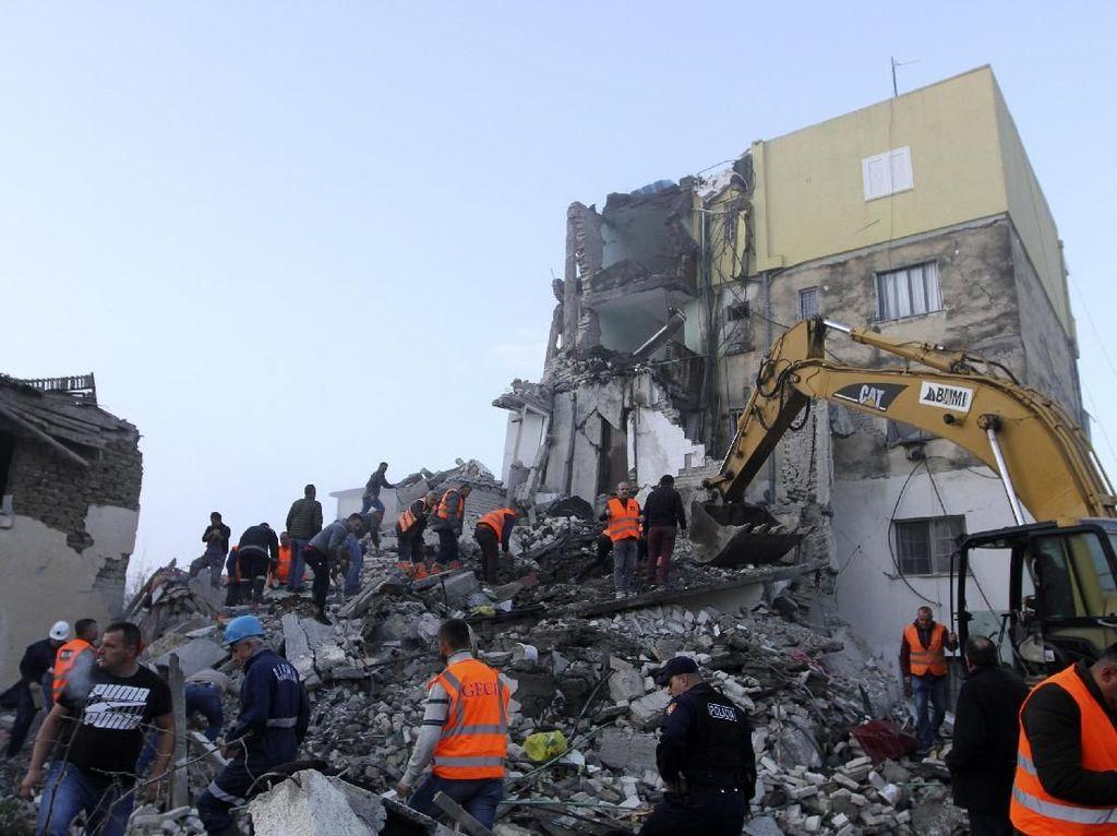 Korban Gempa Albania Jadi 26 Orang Tewas dan 658 Terluka