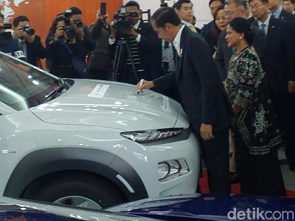 Pabriknya di Korsel Dikunjungi Jokowi, Hyundai Siap Investasi Miliaran Dolar