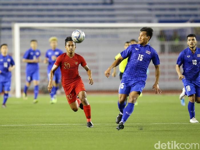 Timnas Indonesia U-22 mengawali kiprah di Grup B pada SEA Games 2019 dengan kemenangan. Anak asuhan Indra Sjafri membekuk Thailand 2-0.