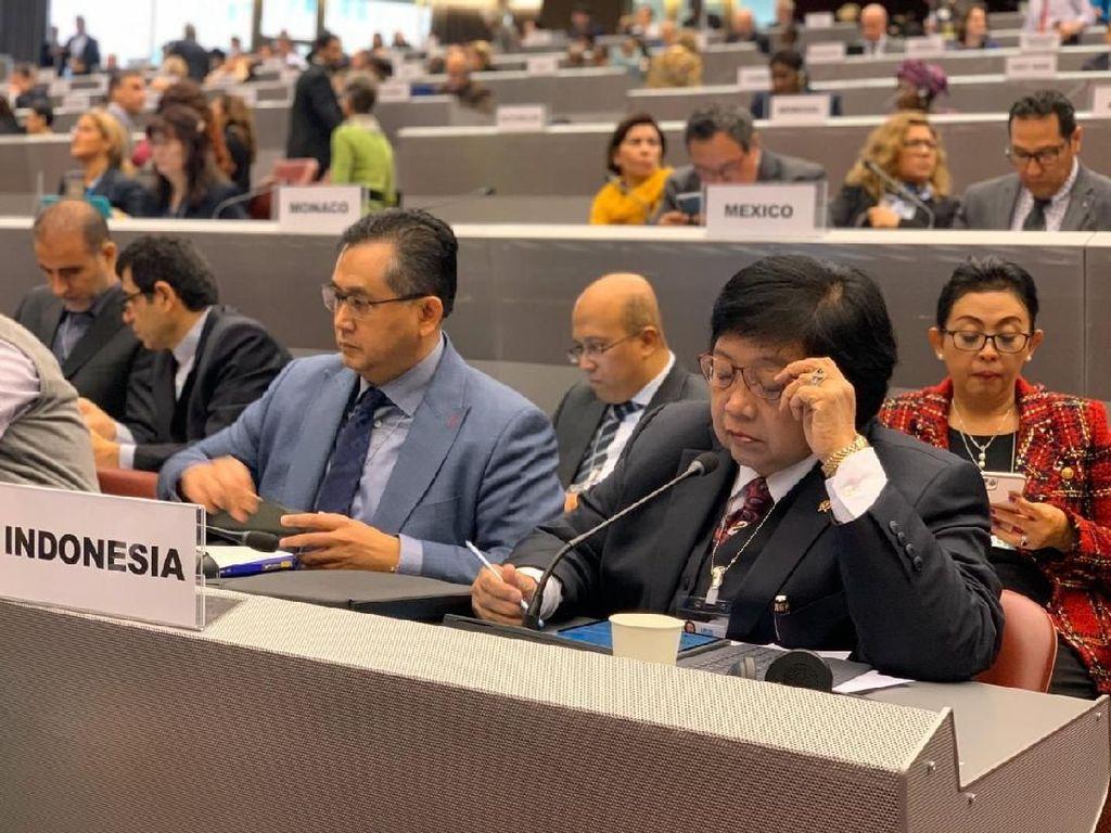Di Forum COP-3 Jenewa, Menteri LHK Paparkan Strategi RI Hapus Merkuri