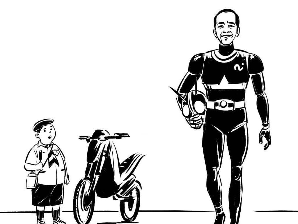 Jokowi hingga Ahok Jadi Inspirasi Komik Faktap