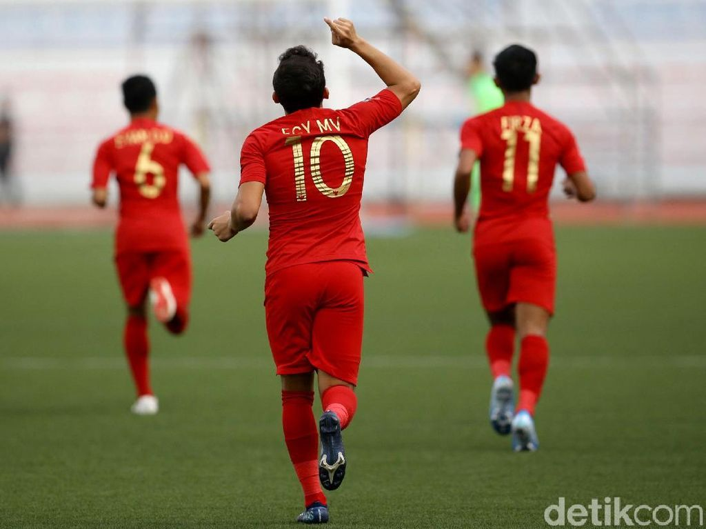 Gol Egy dan Osvaldo Menangkan Indonesia atas Thailand
