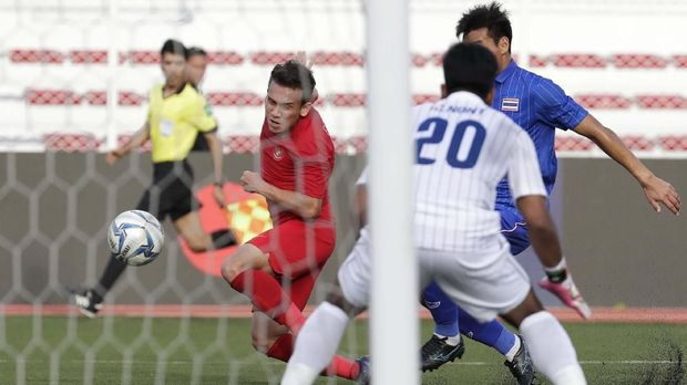 Timnas Indonesia kalahkan Thailand 2-0 di laga perdana.