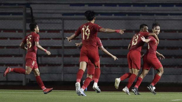 Indonesia kini berada di posisi kedua klasemen Grup B SEA Games 2019.
