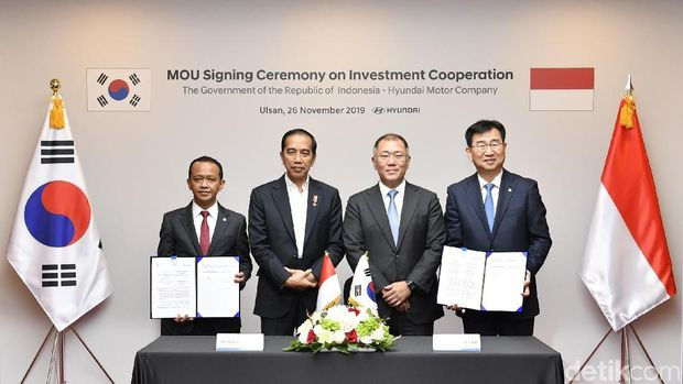 MoU Hyundai dengan Indonesia