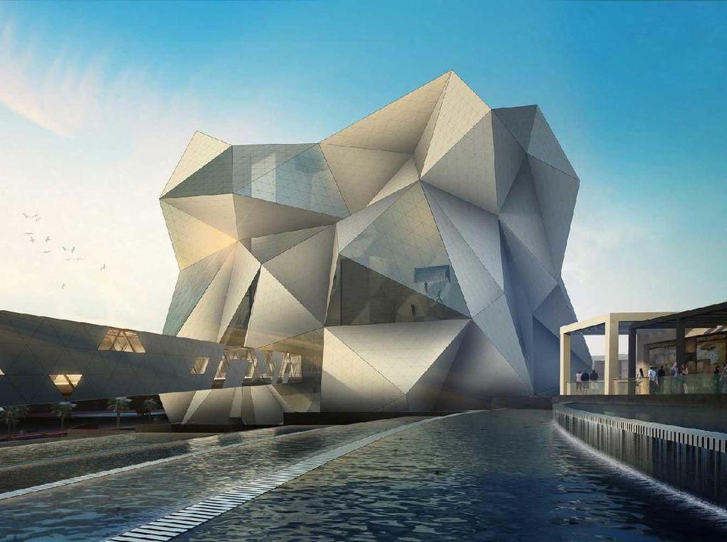 SkyDiving Indoor Terbesar di Dunia Dibuka di Abu Dhabi