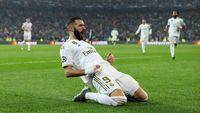 Benzema Bawa Madrid Memimpin 1-0 atas PSG di Babak Pertama