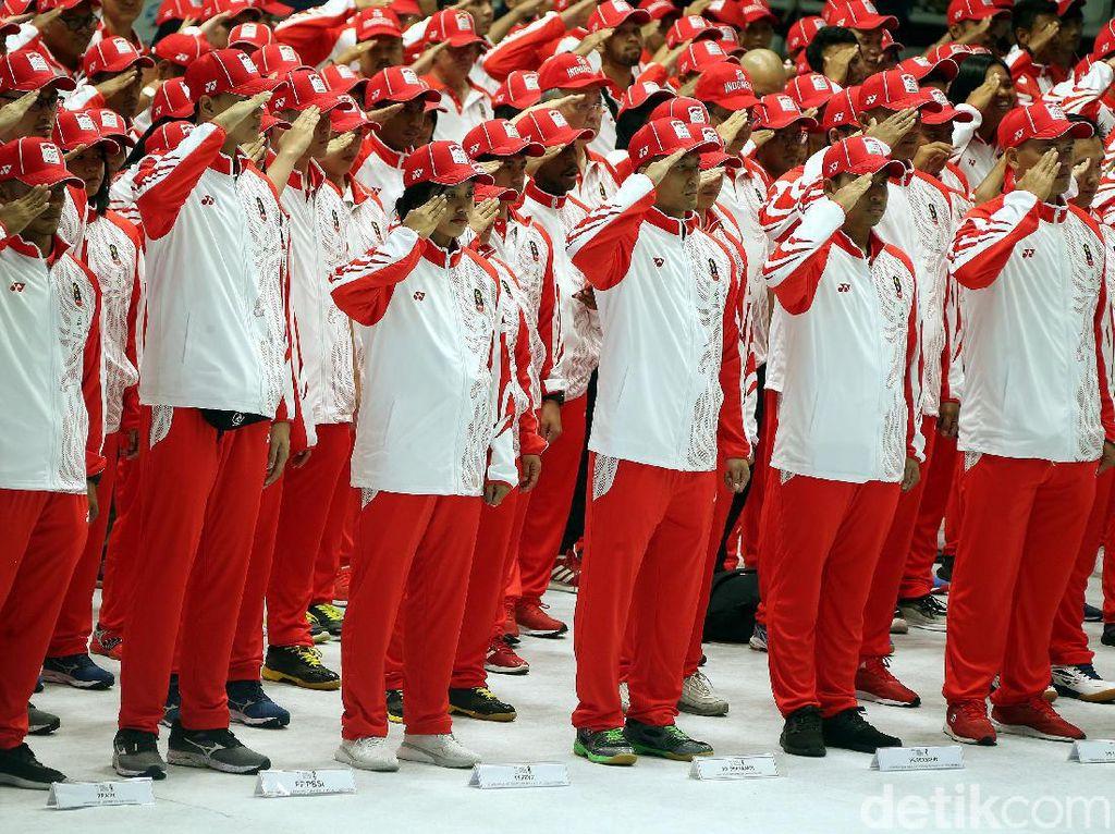 Kukuhkan Kontingen Indonesia ke SEA Games, Menpora Sebut-sebut Timnas U-22