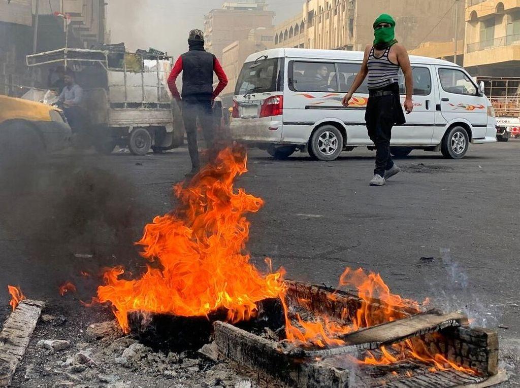 Kericuhan Kembali Pecah di Irak, Kali Ini 6 Demonstran Tewas Tertembak