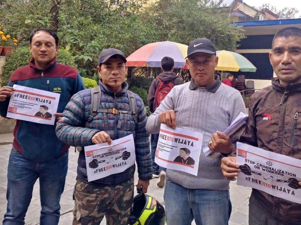 Dukungan untuk Aktivis Pelabuhan