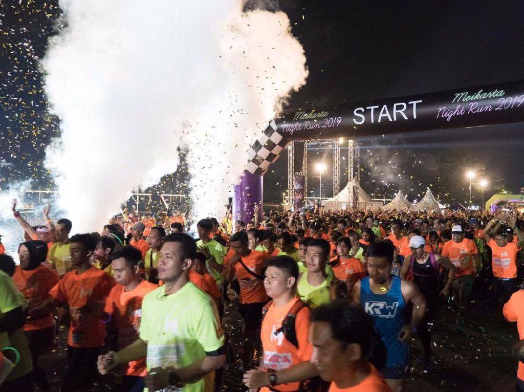 2.500 Pelari Ramaikan Meikarta Night Run