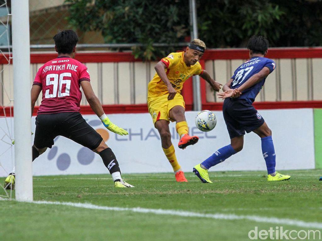 Kemenangan atas Arema FC Terasa Fantastis untuk Bhayangkara FC
