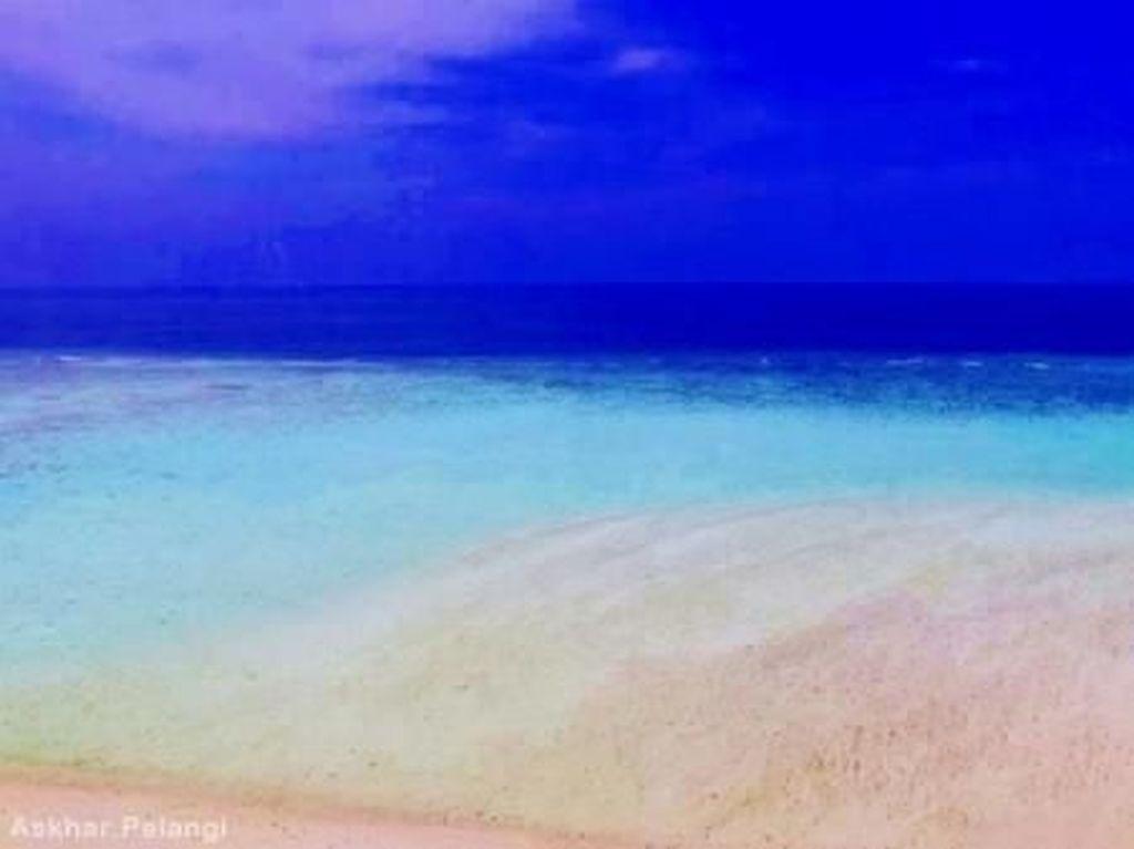 Pasir Timbul Sulawesi yang Cantiknya Mirip Lukisan