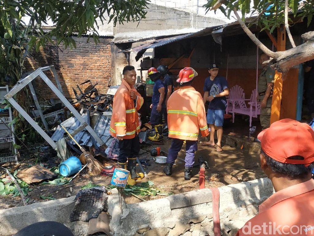 Berniat Usir Tawon, Warga Pacitan Ini Justru Membakar Dapurnya Sendiri