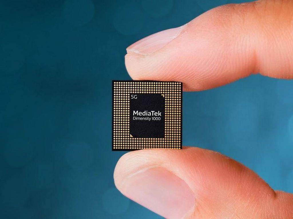 HP Murah Kini Punya Chipset 5G: MediaTek Dimensity 720