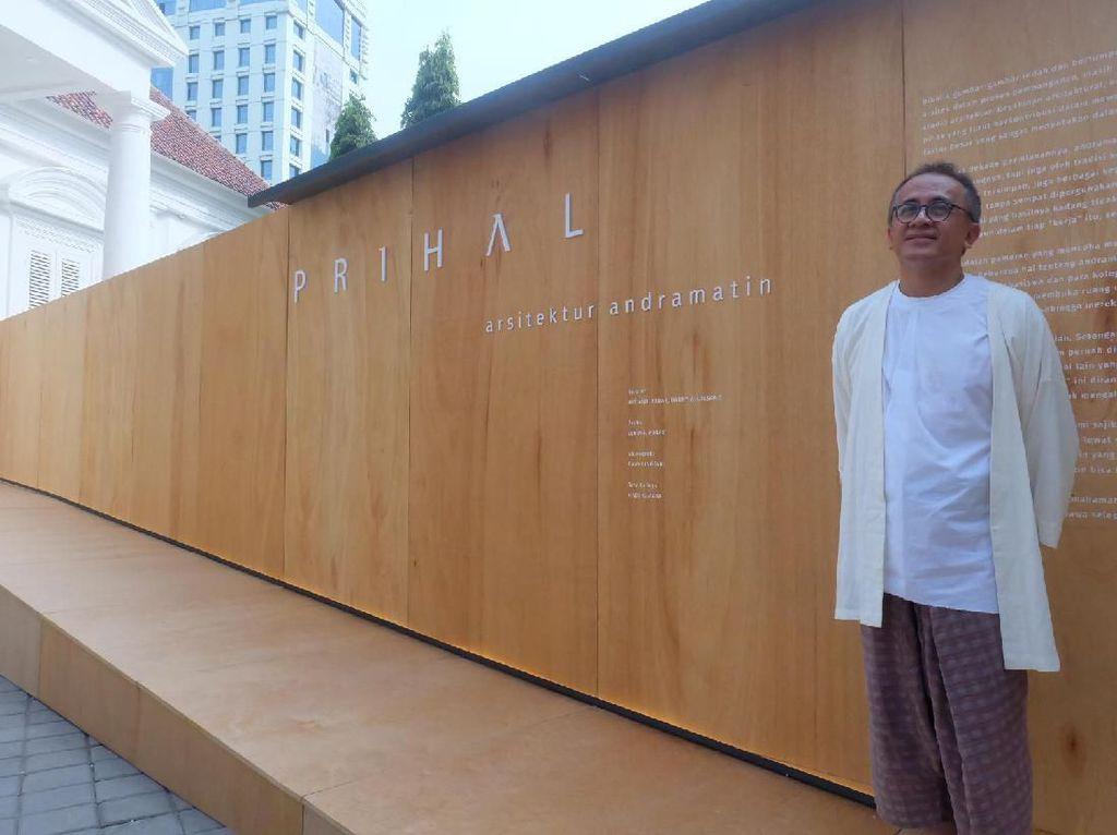20 Tahun Berkarya andramatin Dirayakan Lewat Pameran Arsitektur Prihal