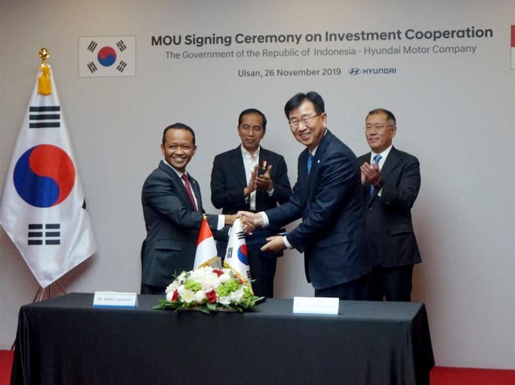 Momen Kepala BKPM Jaring Investasi di Korea Selatan