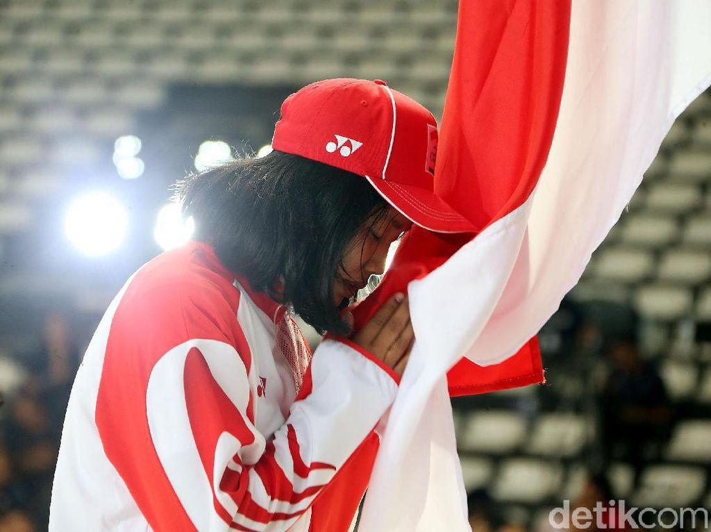 Momen Pengukuhan Kontingen Indonesia untuk SEA Games
