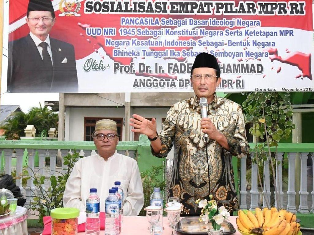 Sosialisasi 4 Pilar, Fadel Muhammad: Kita Berbeda Namun Tetap Satu