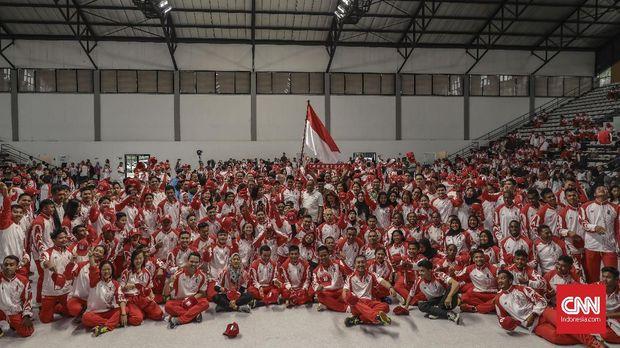 Kontingen Indonesia di SEA Games 2019.