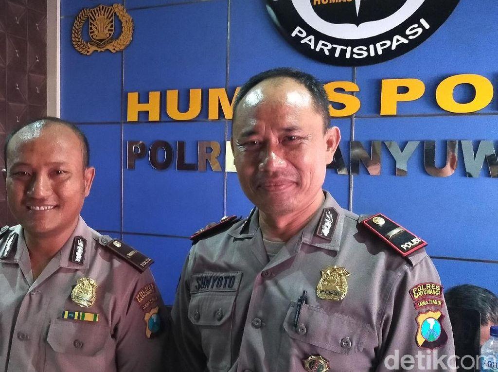 Ricuh Polisi dengan LSM di Polresta Banyuwangi Akibat Salah Paham