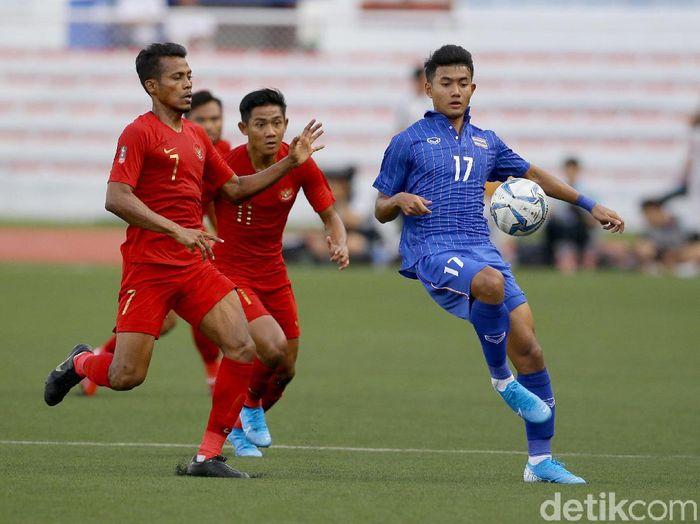 Pemain Thailand, Suphanat Mueanta, ada dalam daftar 10 pemain termuda di SEA Games 2019. (Foto: Grandyos Zafna/detikcom)