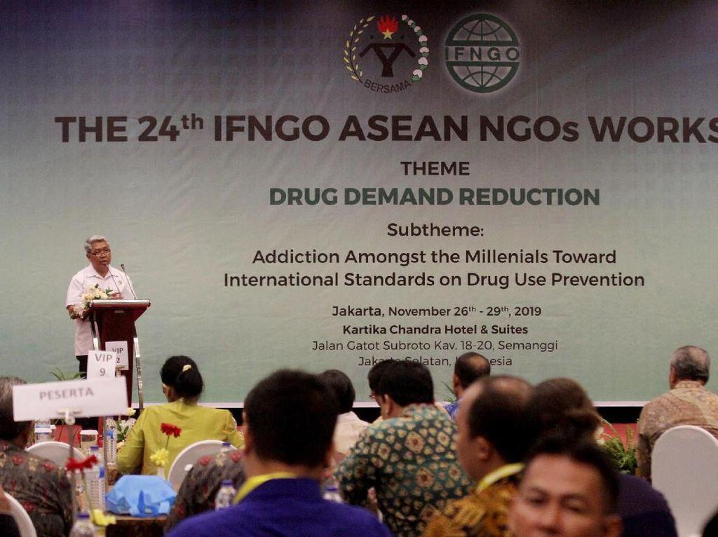 Sosialisasi Bahaya Narkoba Bagi Kaum Milenial