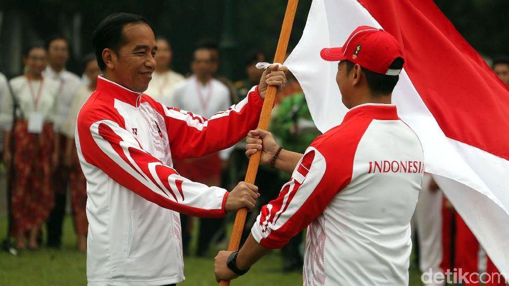 Jokowi Lepas Kontingen Indonesia ke SEA Games