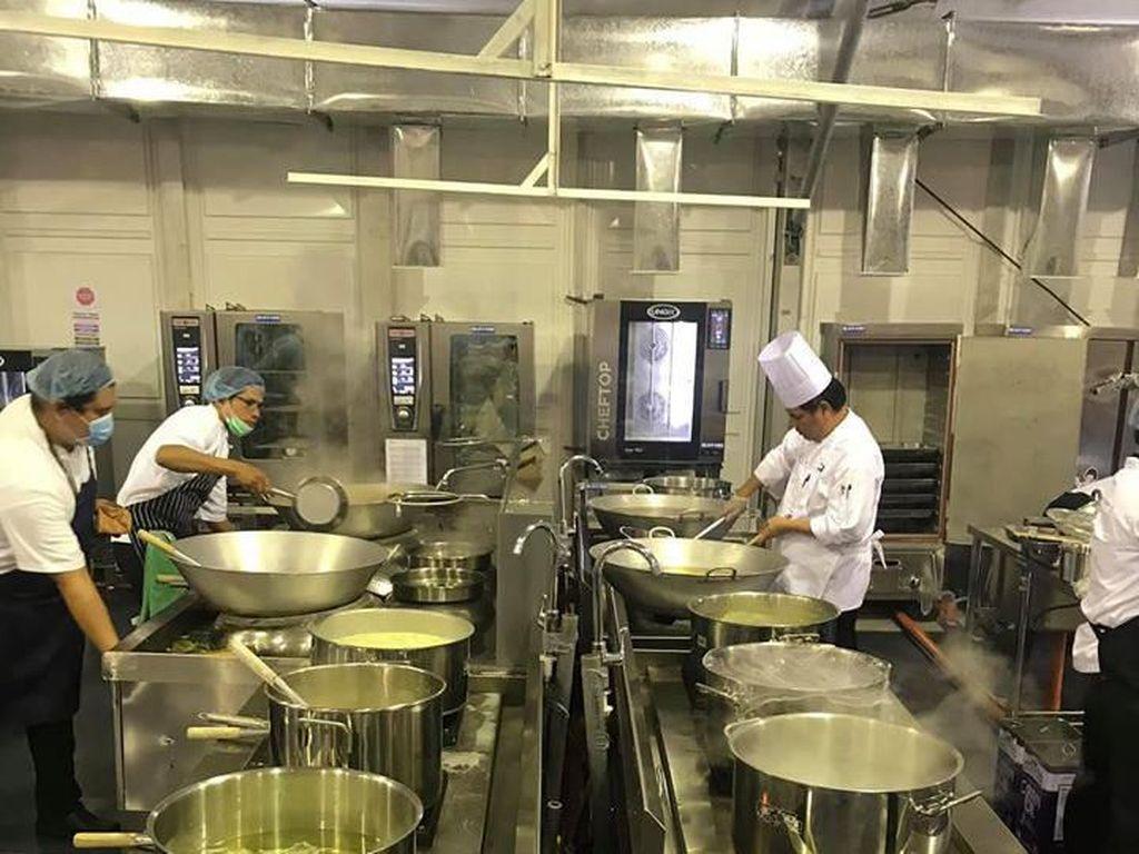 Katering SEA Games Jamin Sediakan Makanan Halal di Kampung Atlet
