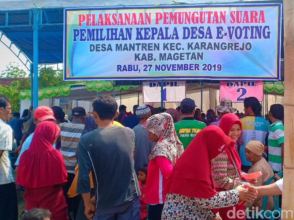 18 dari 184 Desa di Magetan Gelar Pilkades Serentak dengan e-Voting
