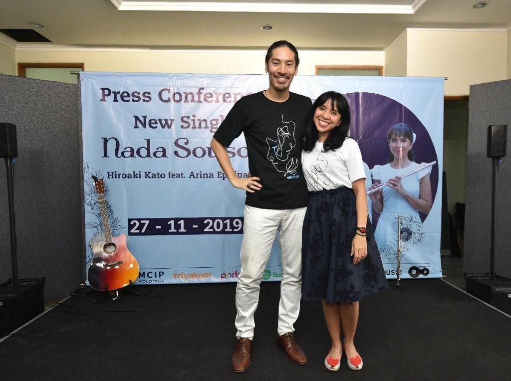 Arina Mocca Rilis Lagu Kolaborasi Pertama dengan Hiroaki Kato