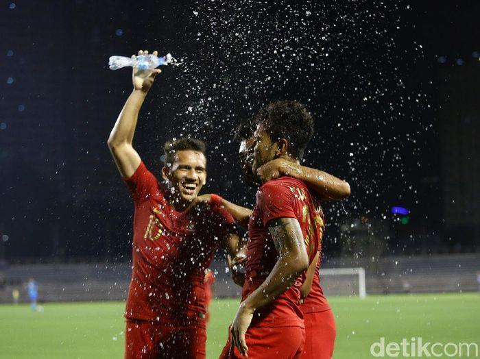 Susunan pemain Timnas Indonesia U-22 vs Brunei Darussalam di lanjutan Grup B SEA Games 2019 sudah dirilis. (Foto: Grandyos Zafna/detikcom)