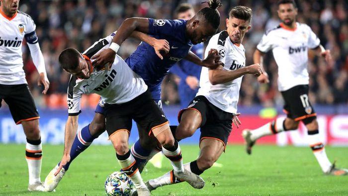 Chelsea gagal pertahankan keunggulan saat bermain imbang 2-2 dengan Valencia (Foto:Gonzalo Arroyo Moreno/Getty Images)