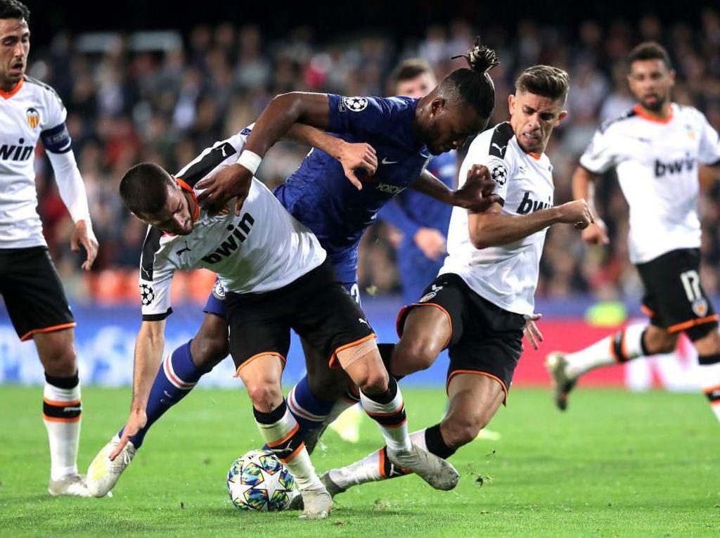 Kendurkan Serangan Saat Unggul Buat Chelsea Ditahan Valencia