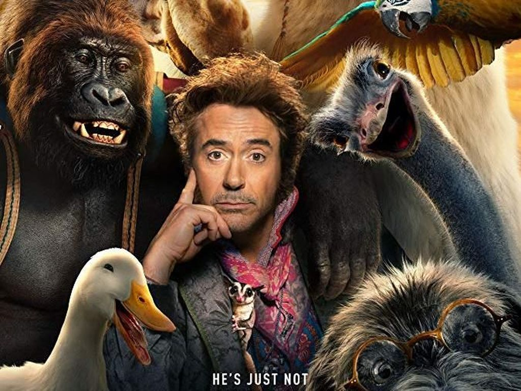 Puji Robert Downey Jr, Britney Spears Promosikan Dolittle