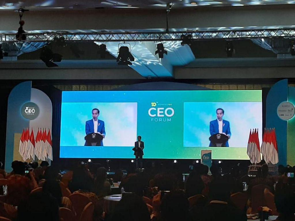 Di Depan CEO, Jokowi Bicara Wisata Labuan Bajo hingga Perampingan Eselon