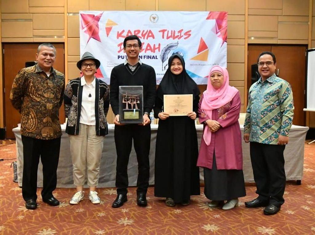 Universitas Brawijaya Raih Juara Nasional Lomba Karya Tulis MPR