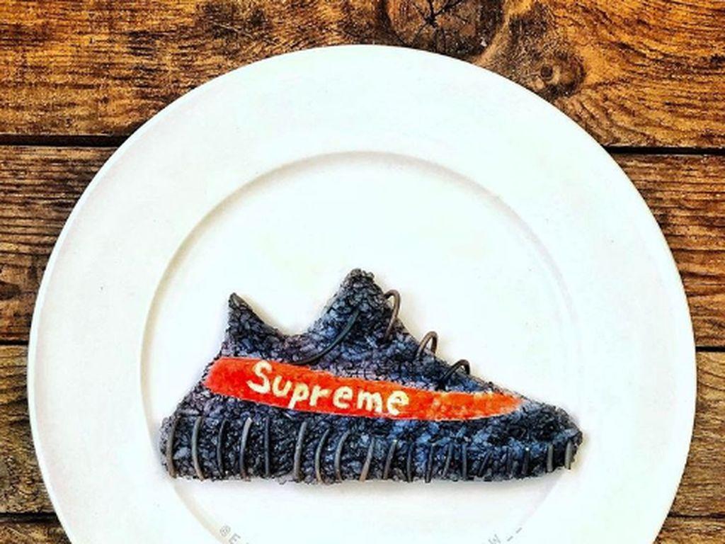 Nyam! Sepatu Keren Ini Terbuat dari Makanan