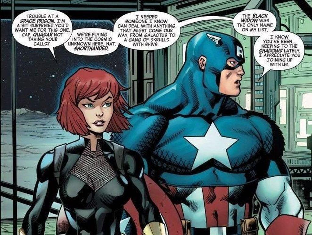 Marvel Bongkar Kostum Terbaru Black Widow