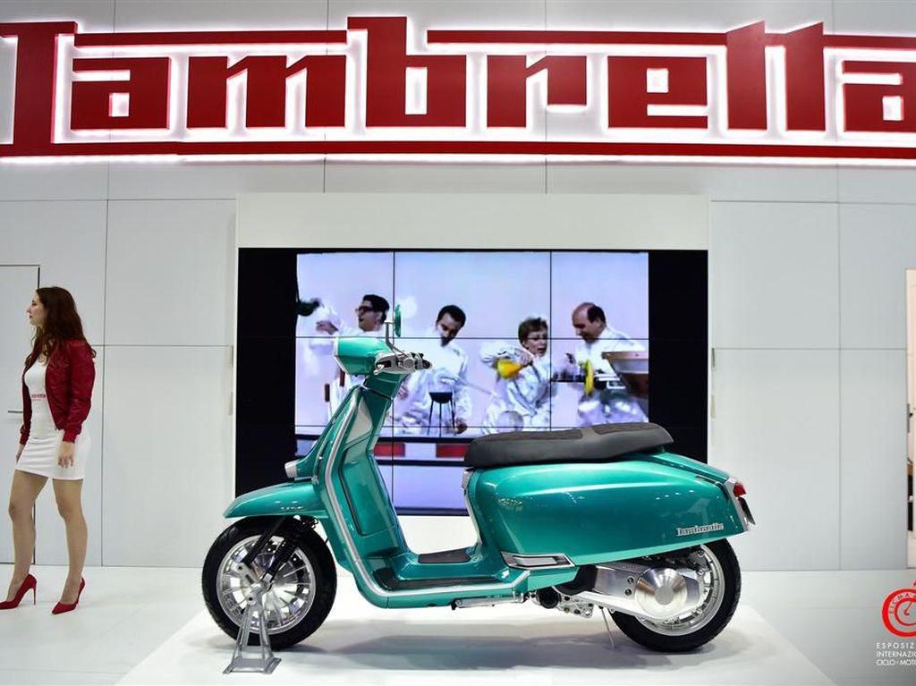 Lambretta Siap Bawa Skuter yang Lebih Besar ke Indonesia