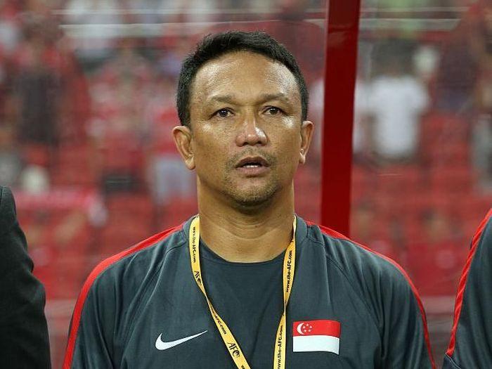 Fandi Ahmad menilai Indonesia vs Singapura laga krusial. (Foto: Lionel Ng/Getty Images)