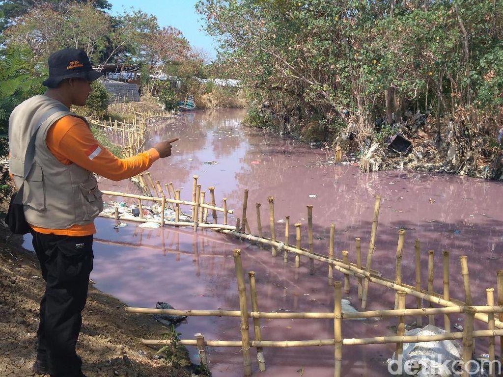 DPRD Surati BBWS Terkait Sungai Ciberes Cirebon Berubah Warna Pink