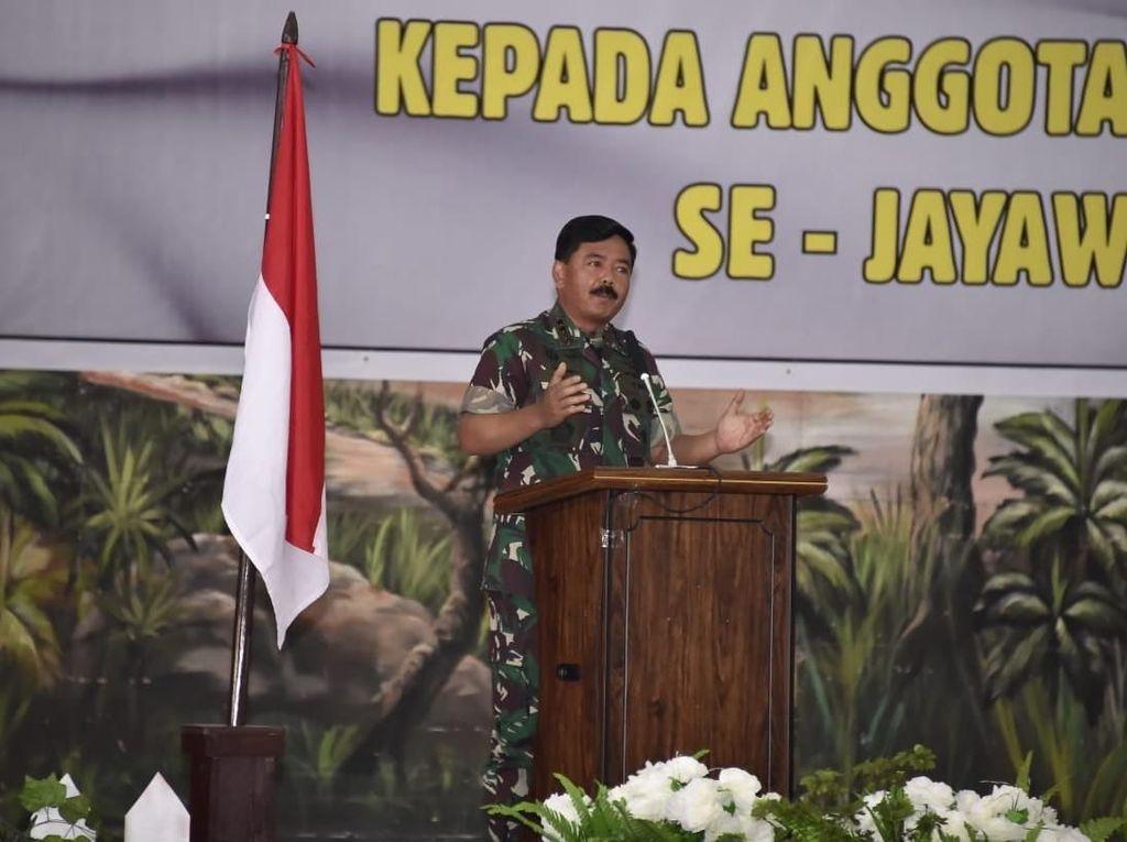 Cerita Panglima TNI soal Prajurit: Lagi Sama Keluarga, Harus Pergi demi Tugas