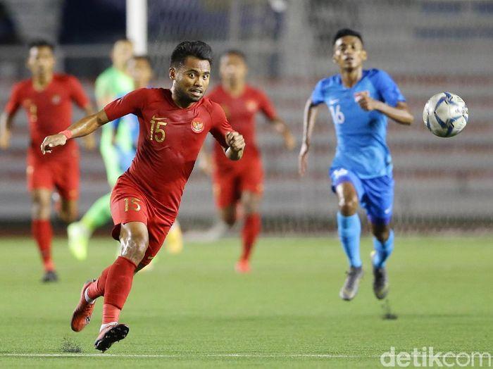 Timnas Indonesia U-22 menyumbang tiga pemain di tim terbaik SEA Games 2019. (Foto: Grandyos Zafna/detikcom)