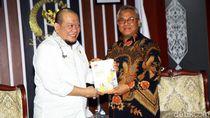 KPU laporkan Hasil Pemilu 2019 ke DPD
